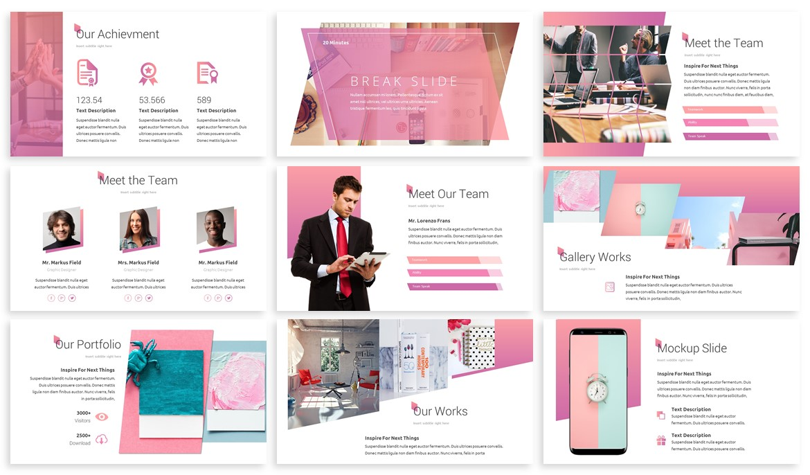 Skuar - Pastel Powerpoint Template example image 3