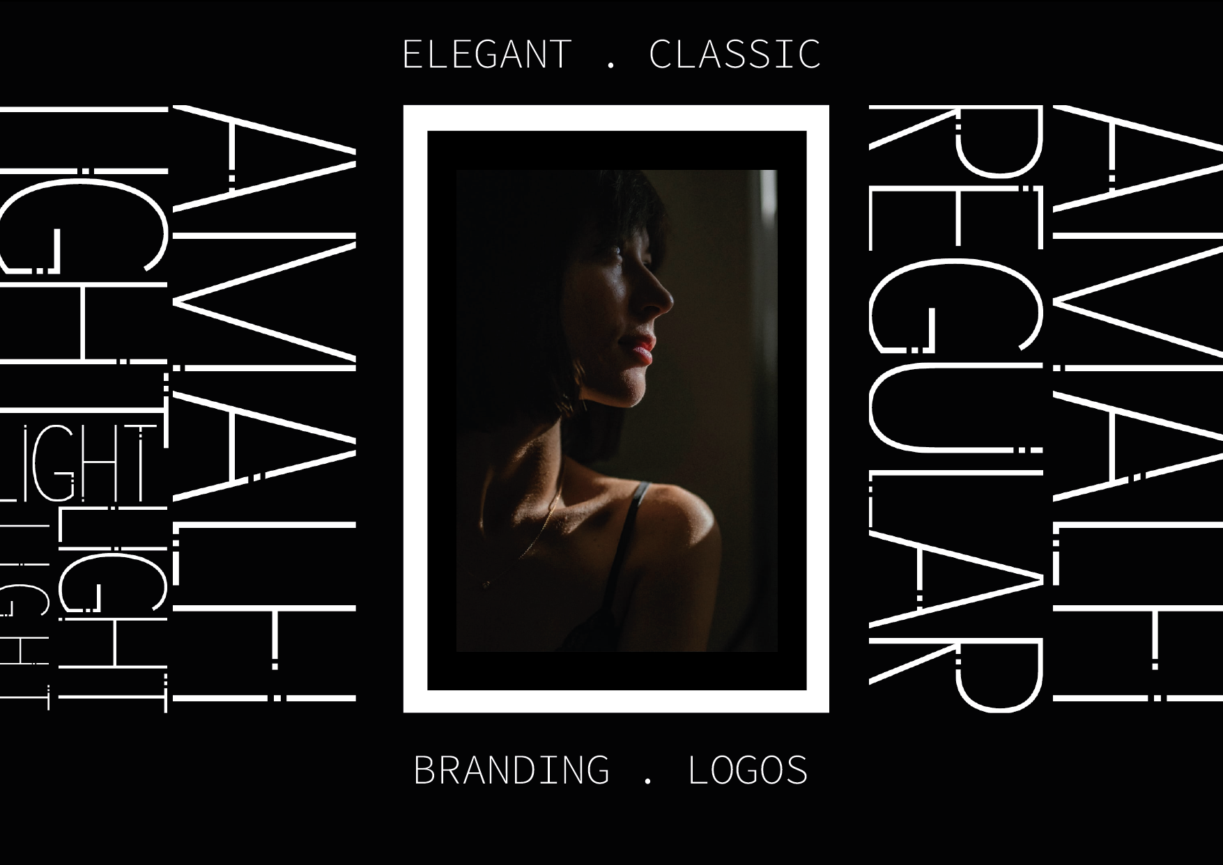 AMALFI - A Modern Font Family example image 4