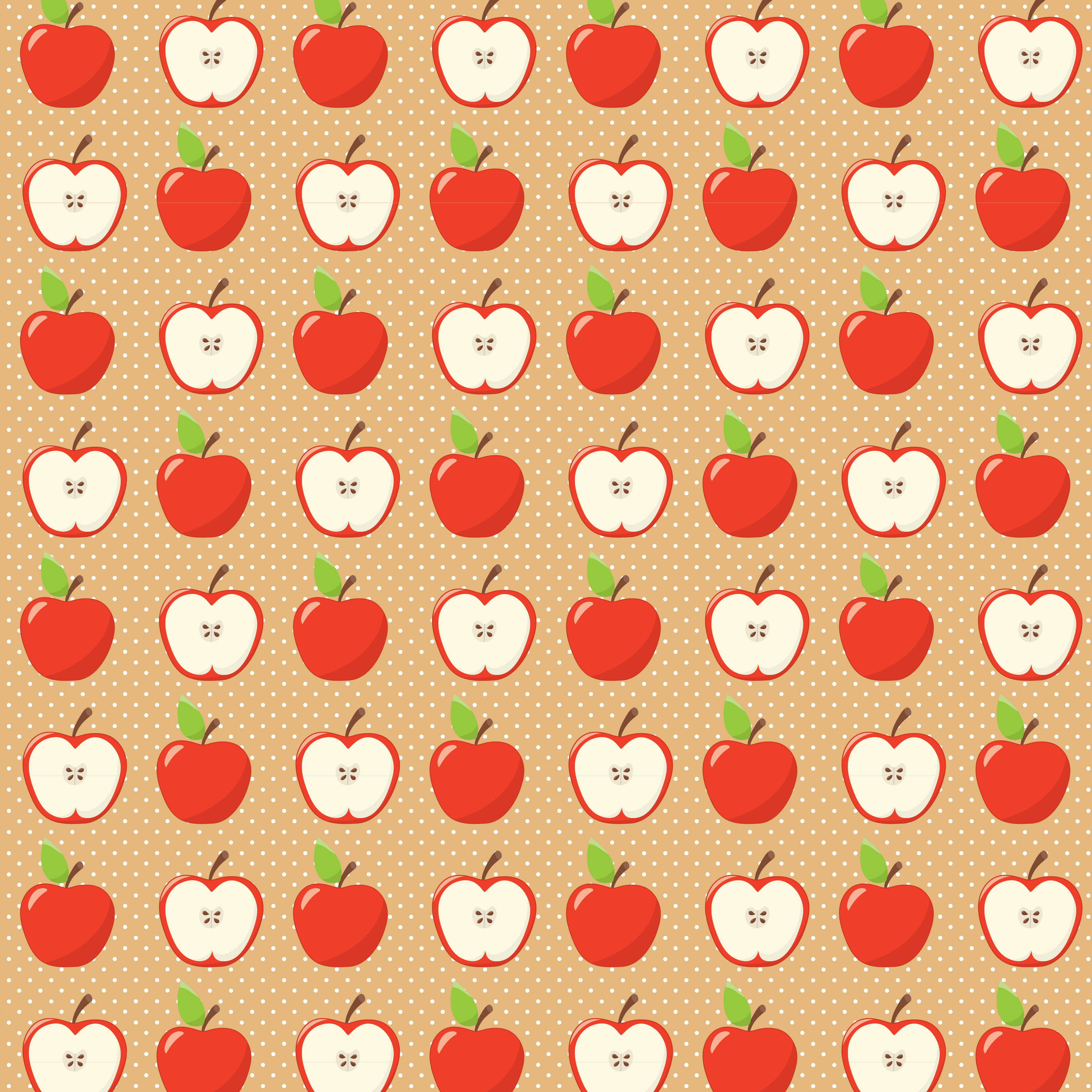 APPLE PICKING, digital papers example image 4