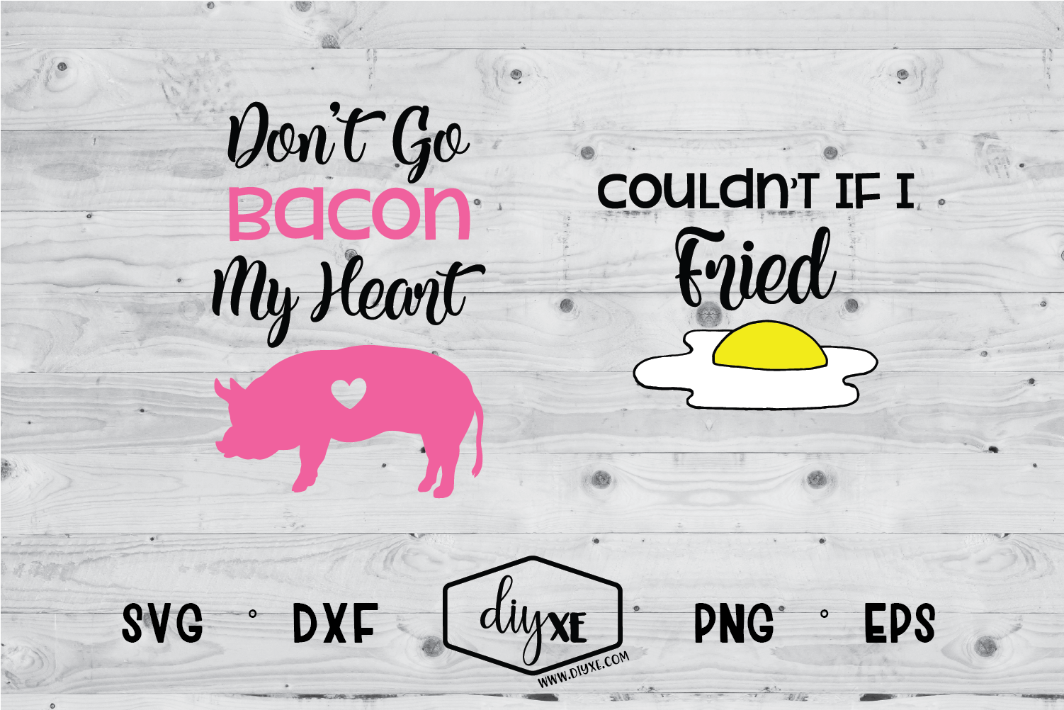 Don't Go Bacon My Heart / Couldn't If I Fried example image 1
