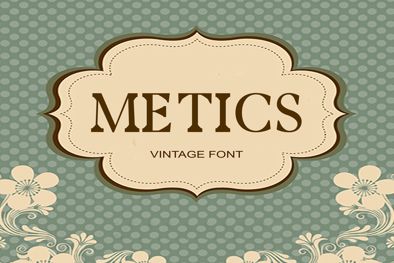 150 Premium Vintage Fonts example image 4