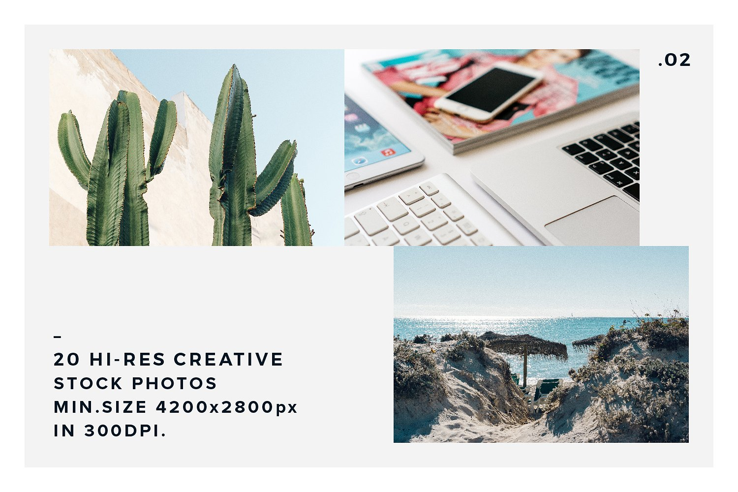 20 Stock Photos Creative Pack vol.2 example image 5
