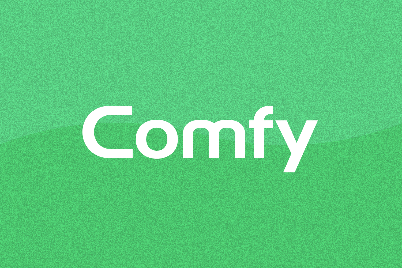 Comfy - Logo Design Font example image 1