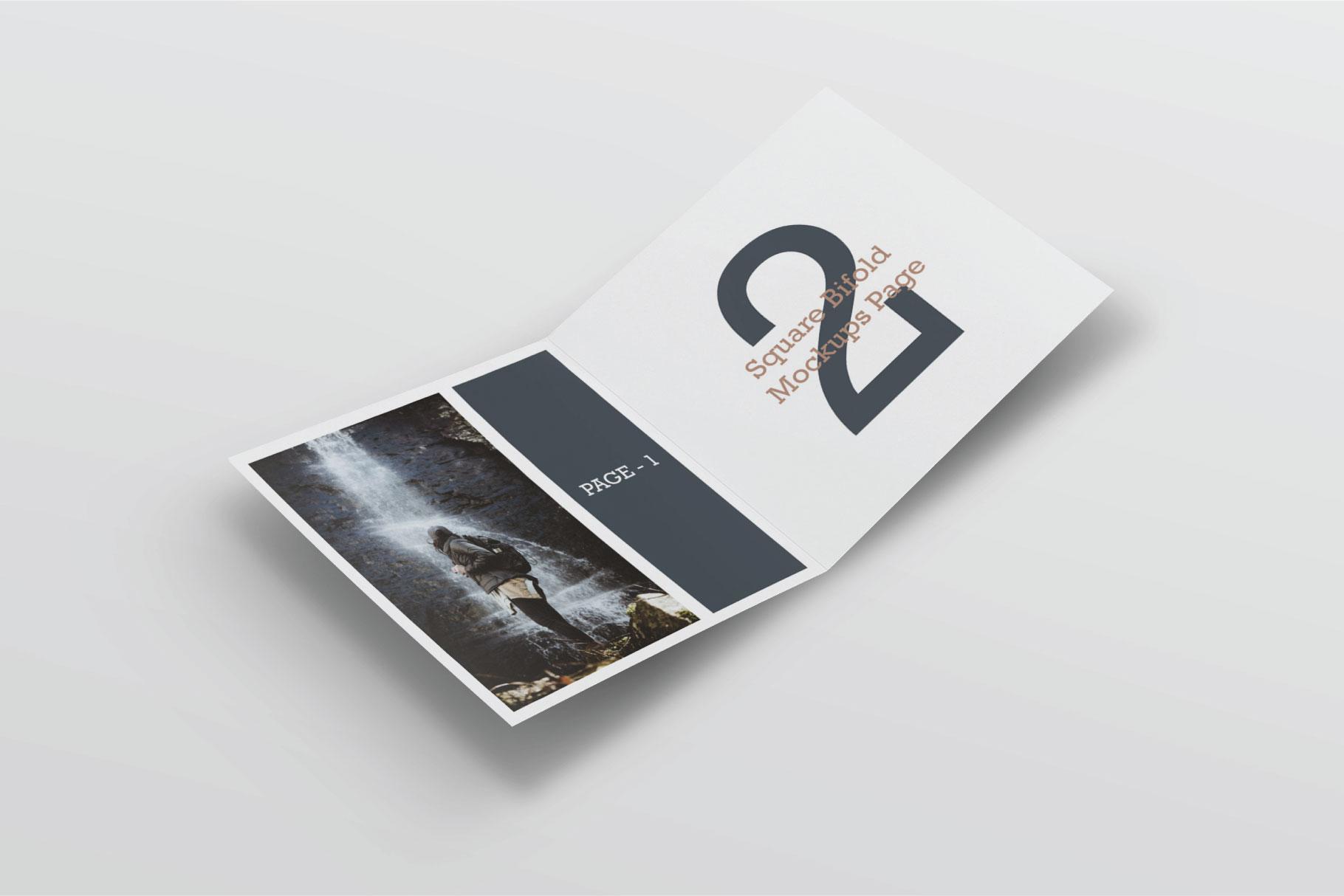 Square Greeting Card Mock-Ups example image 2