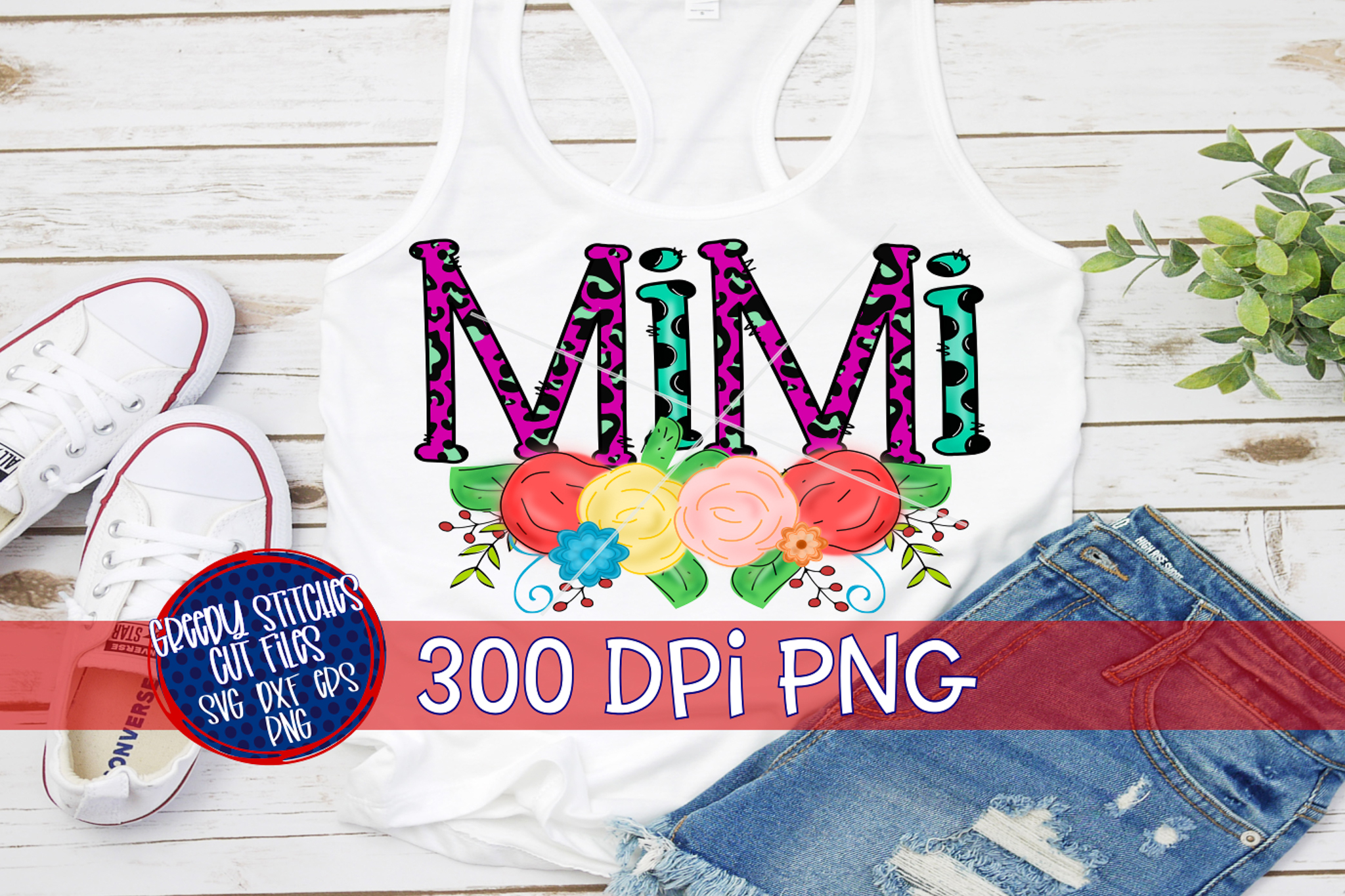 Mother's Day| Mimi PNG For Sublimation example image 3
