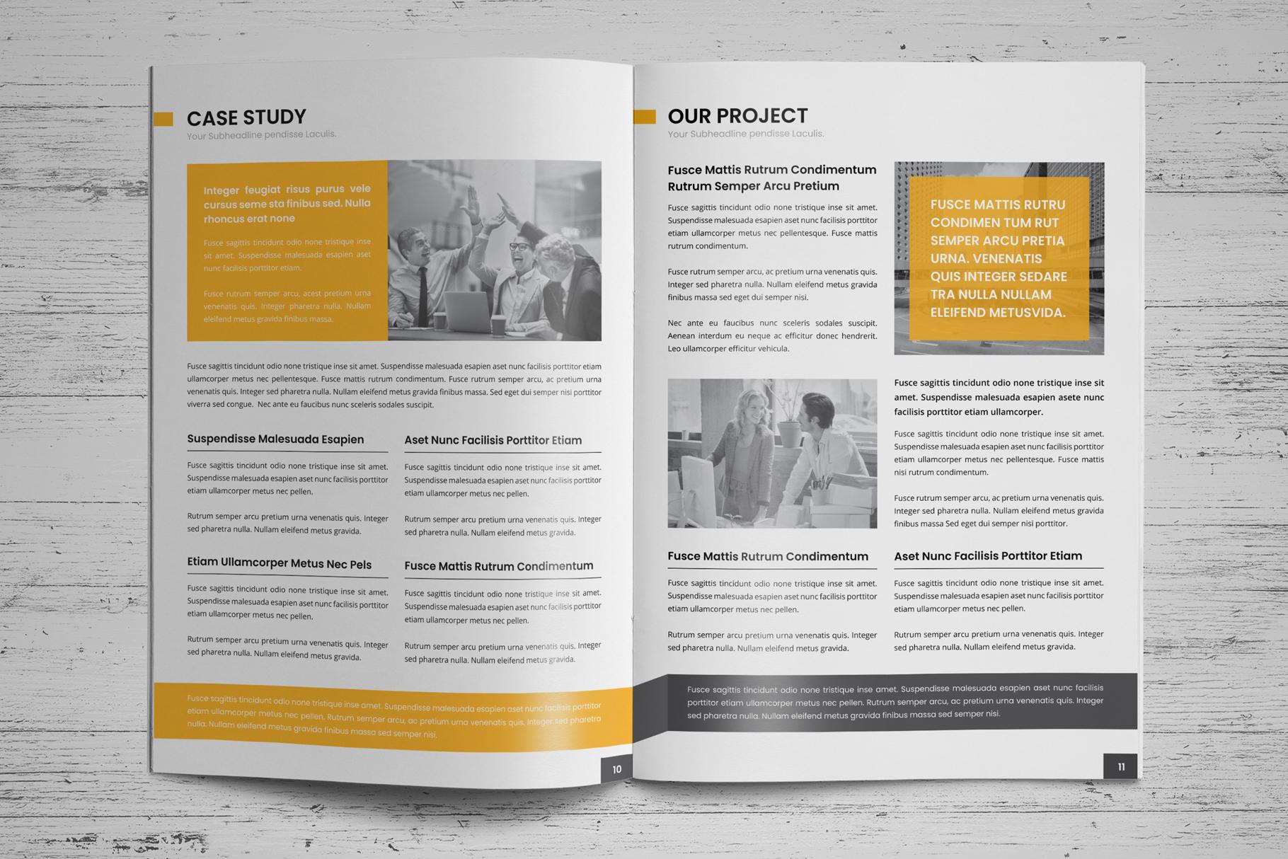 Company Profile Brochure v7 example image 7