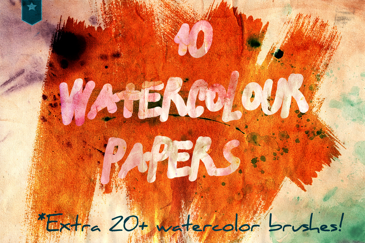 watercolour aquarel papers example image 1