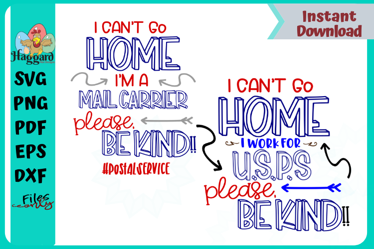 I can't stay home Mail-Force Bundle example image 3