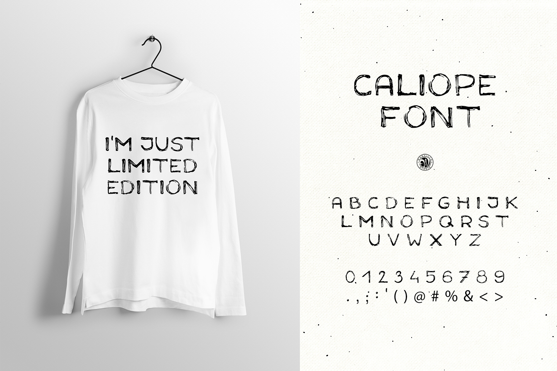 Caliope Font example image 4