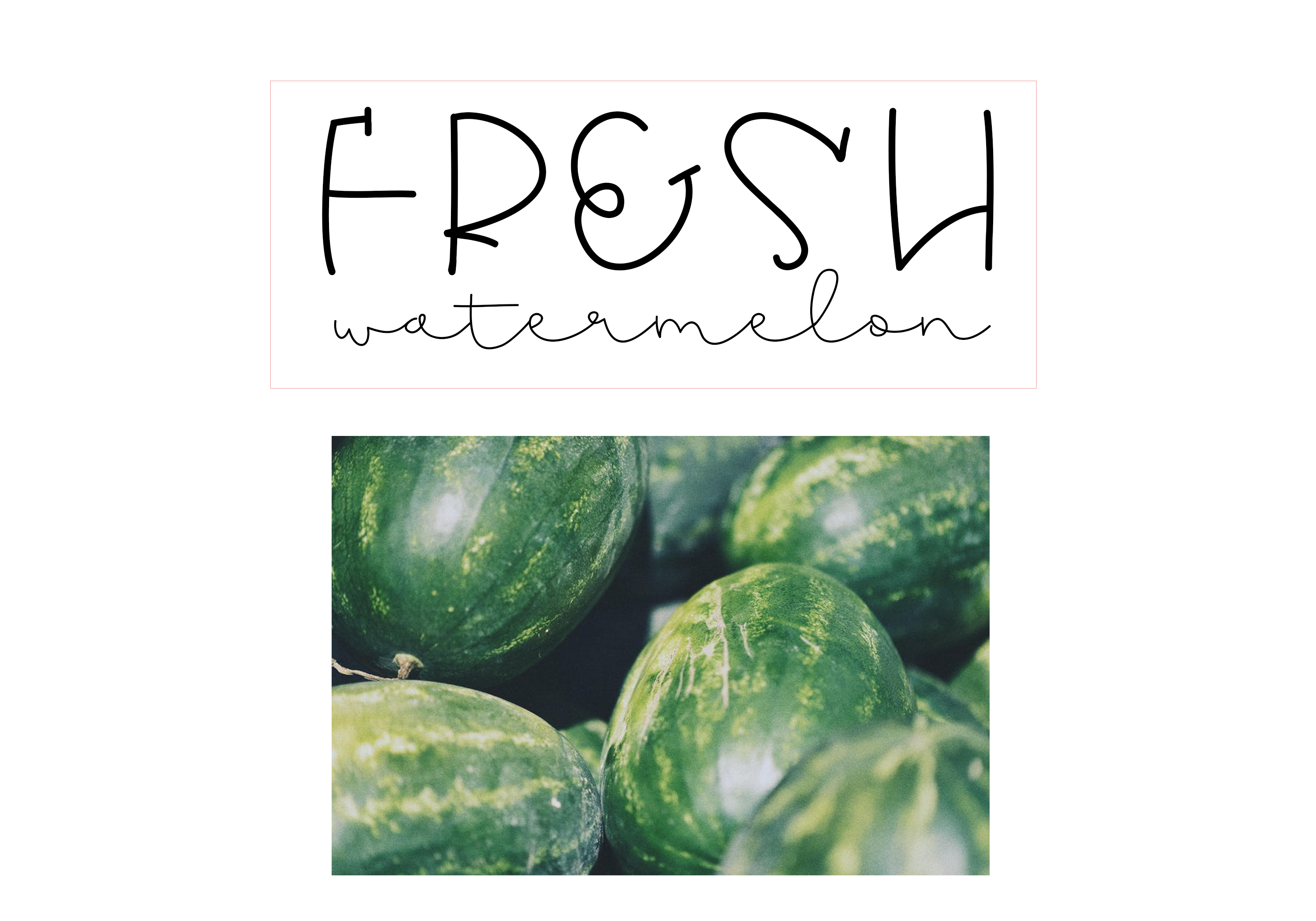 Melon - A Quirky Handwritten Font example image 6