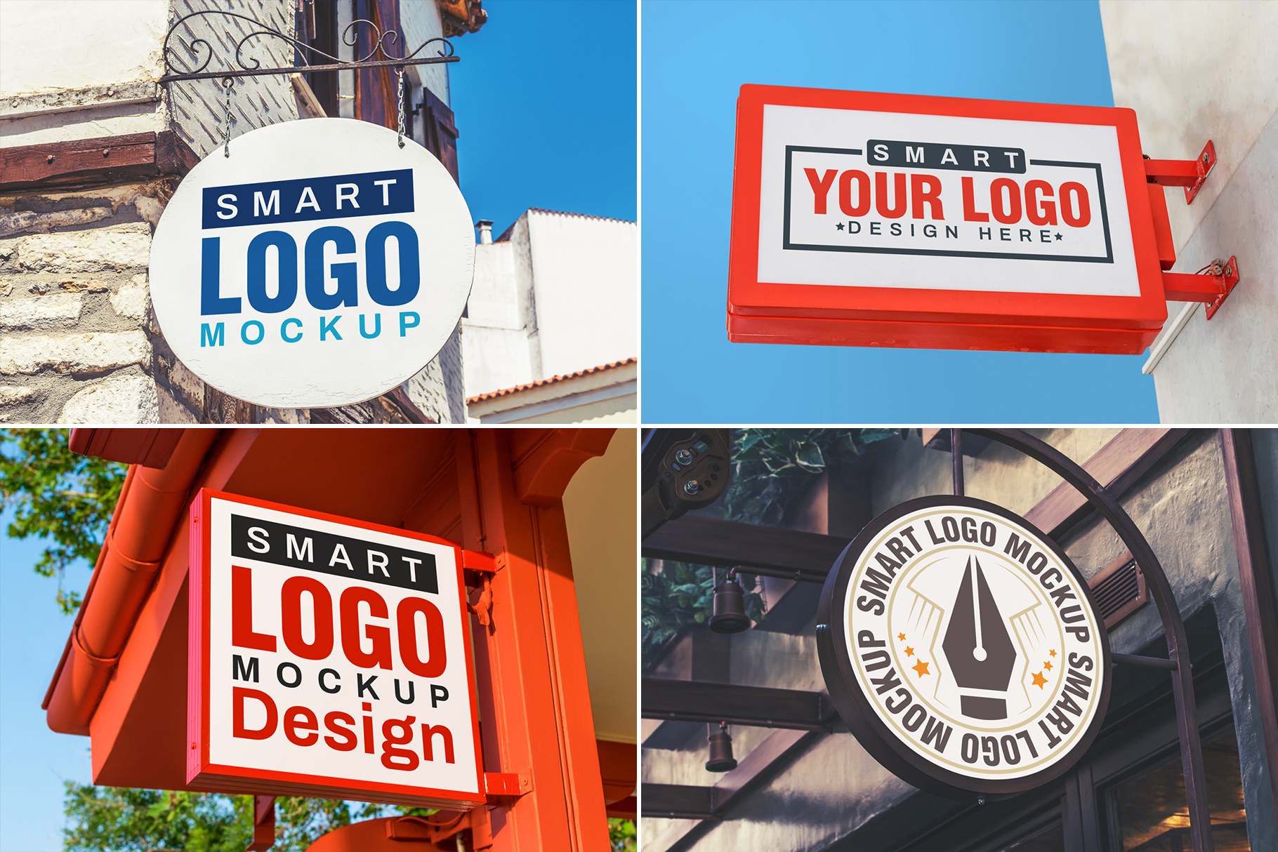 100 Logo Mockups Bundle Vol.3 example image 11