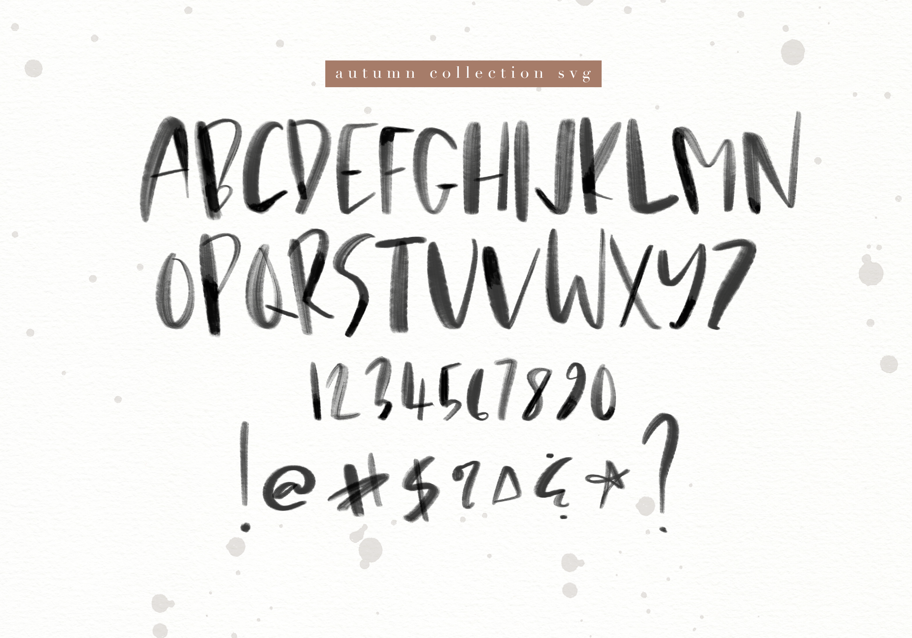 Autumn Collection OTF & SVG Font example image 14