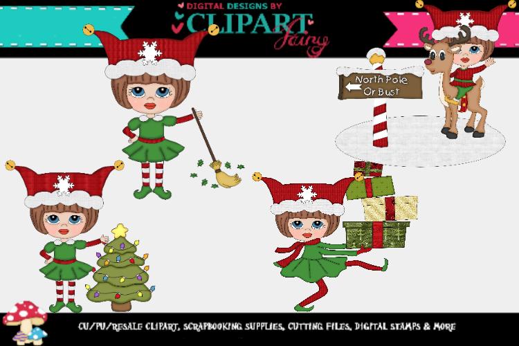 Christmas Elf Girls example image 1