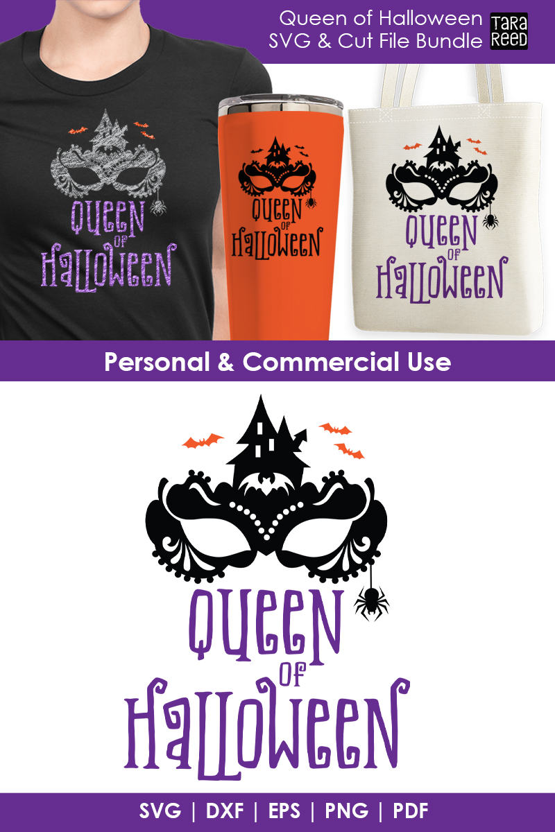 Queen of Halloween - Halloween SVG & Cut Files for Crafters example image 2