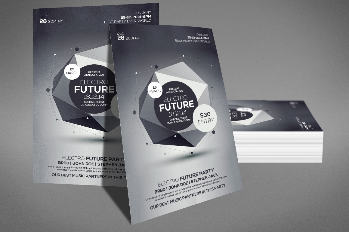 Future Flyer Template example image 3