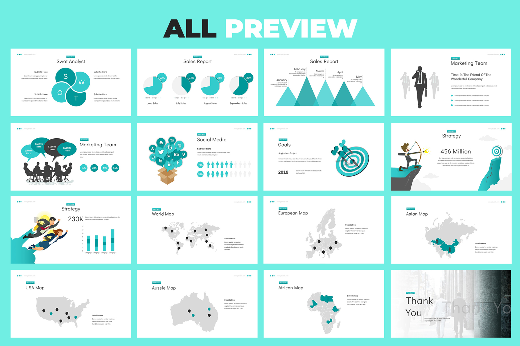 Business Proposal Google Slides example image 8