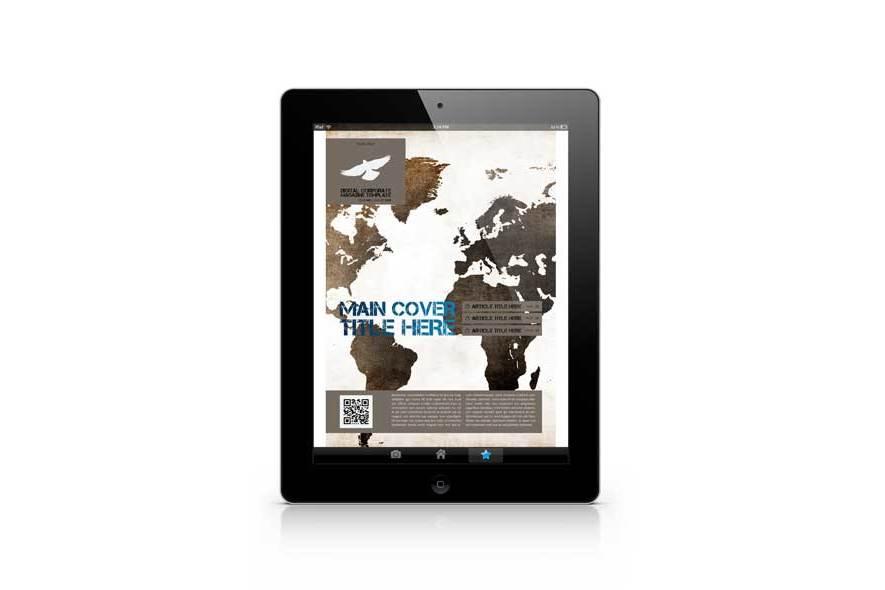 Digital Corporate Magazine Template example image 5