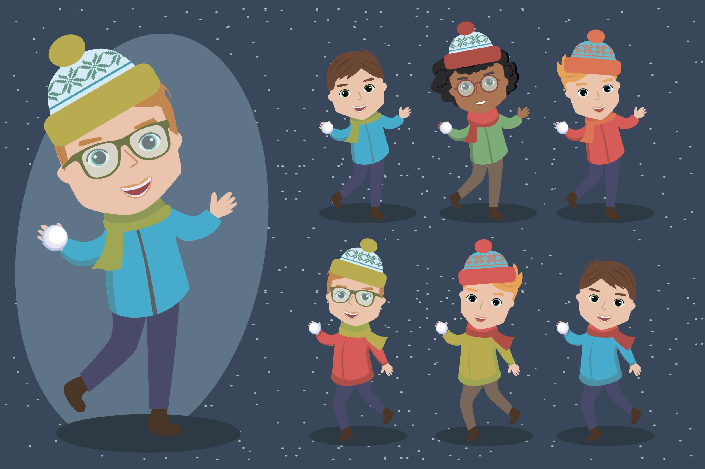 Creator Christmas kids character example image 8