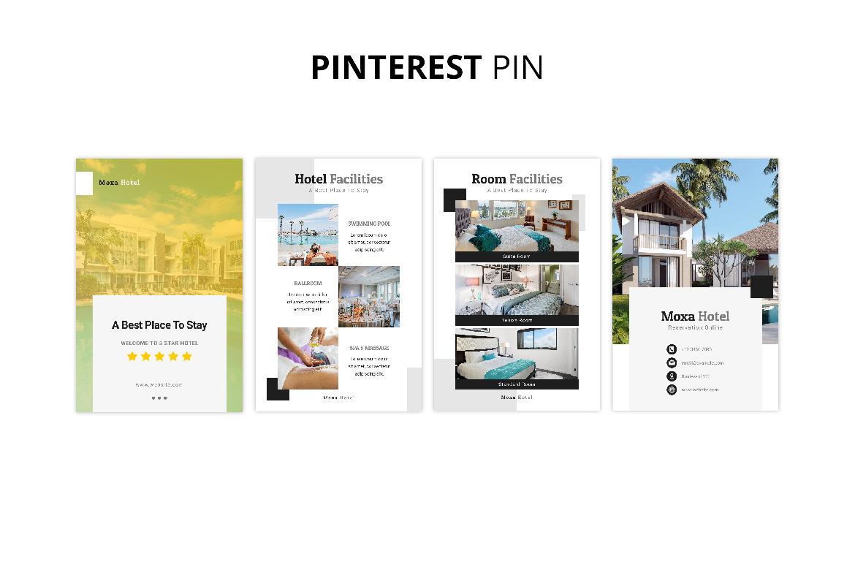 Moxa Hotel Social Media Kit example image 10