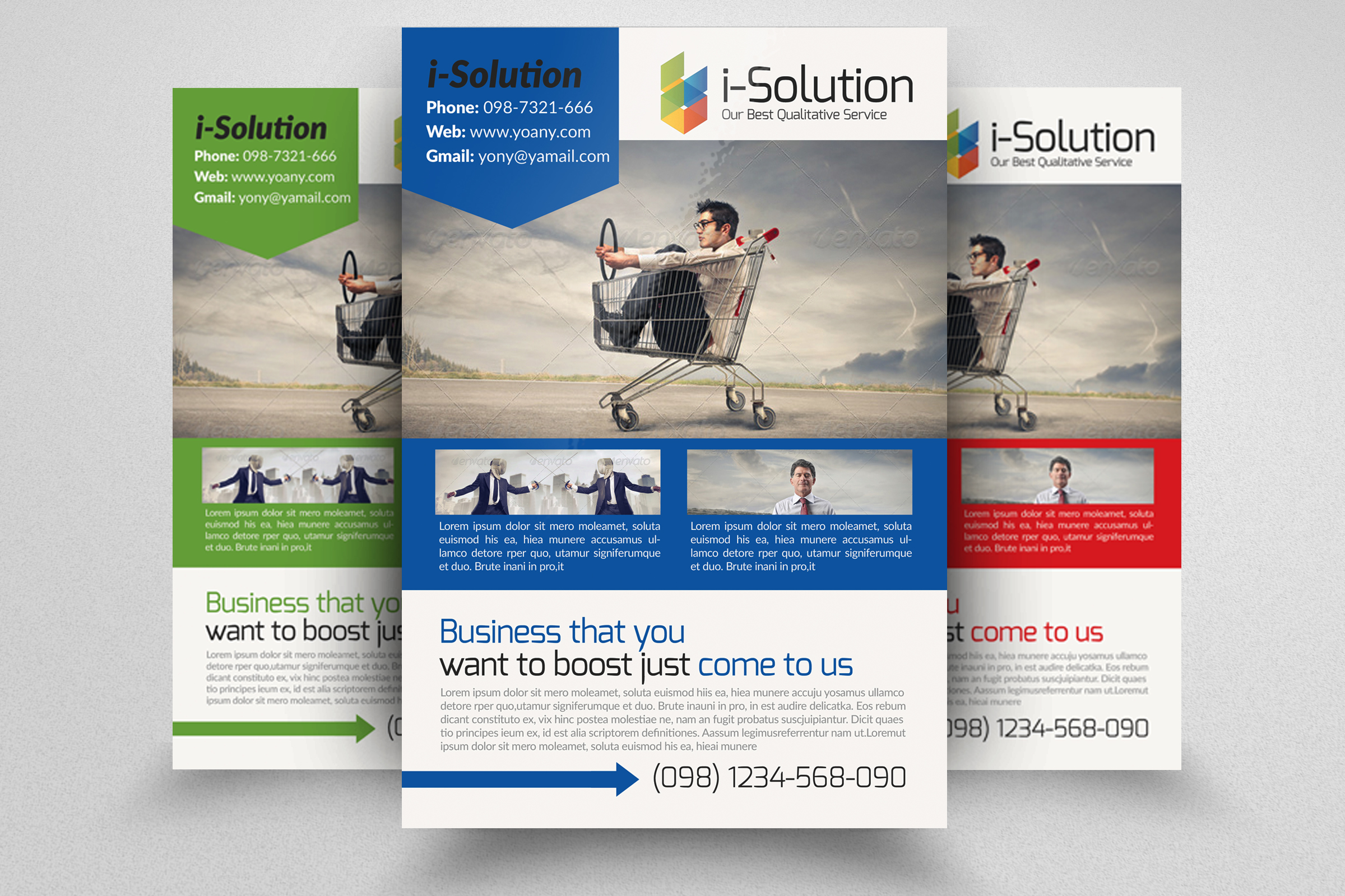 7 Corporate Business Flyers Bundle example image 4