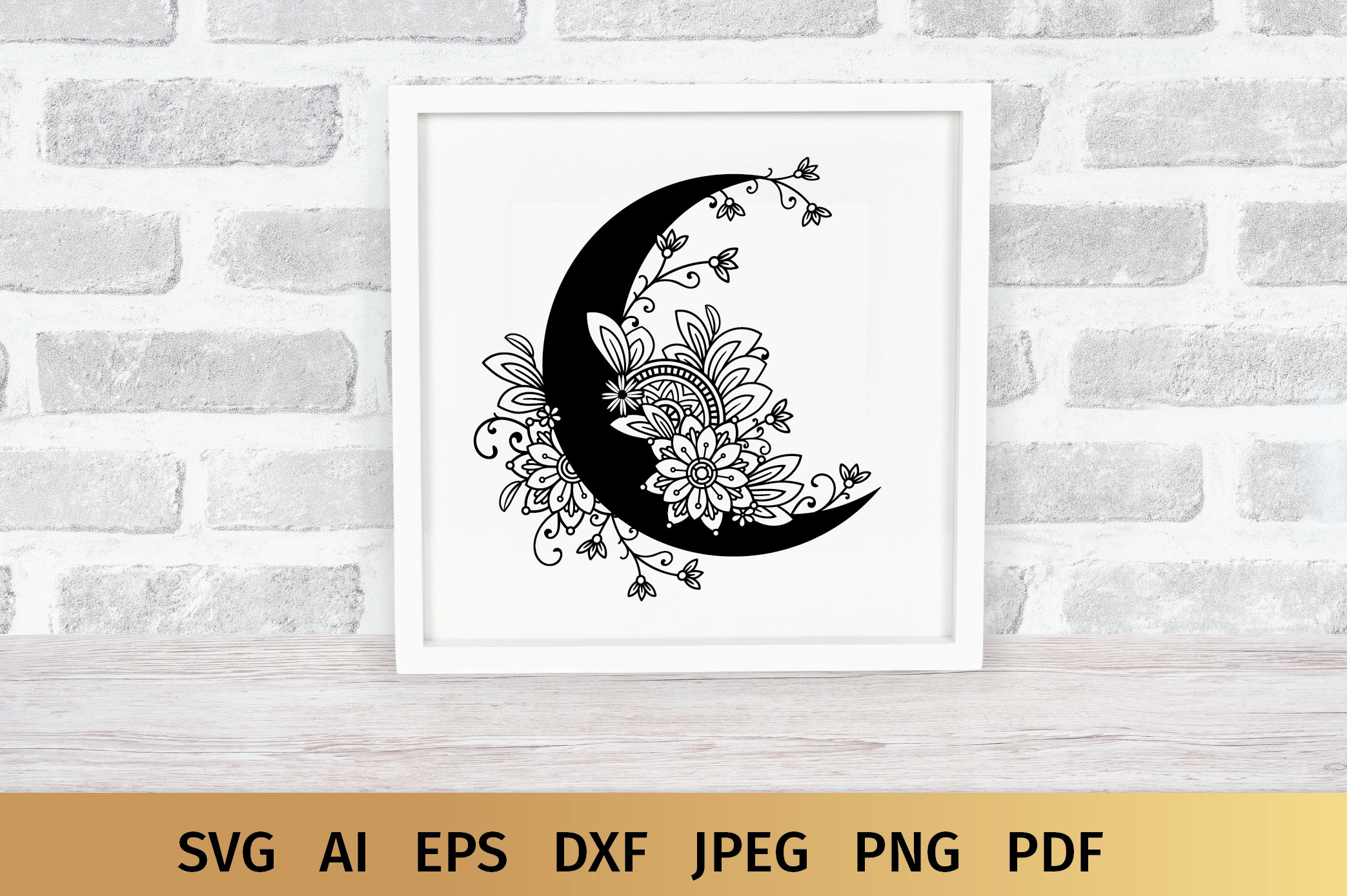 Moon SVG example image 2