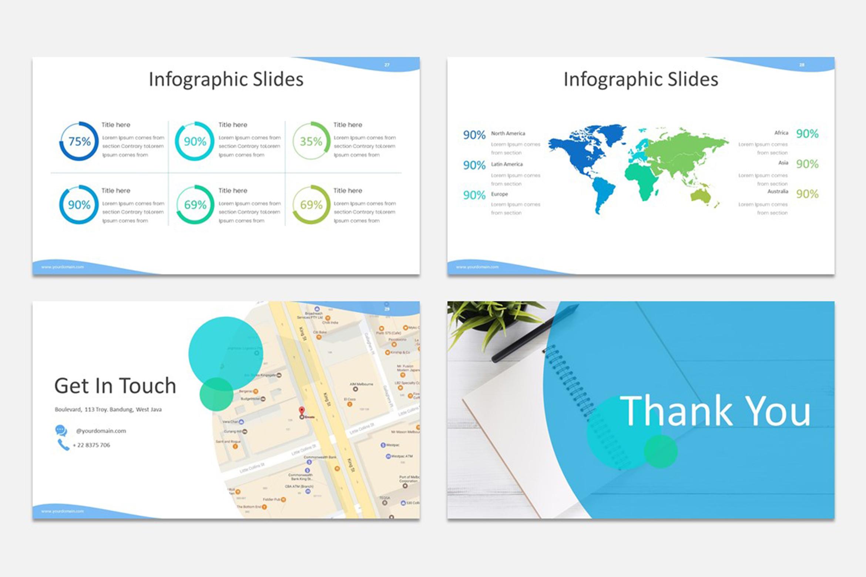Milde - Multipurpose Powerpoint Presentation Template example image 6