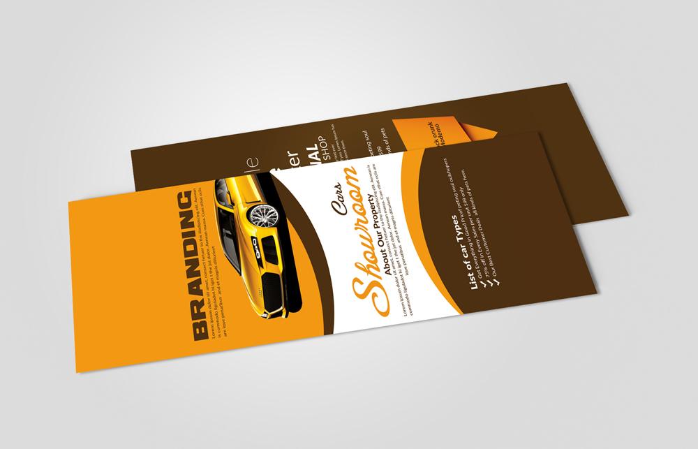 Car Dealer Rack card Template example image 2