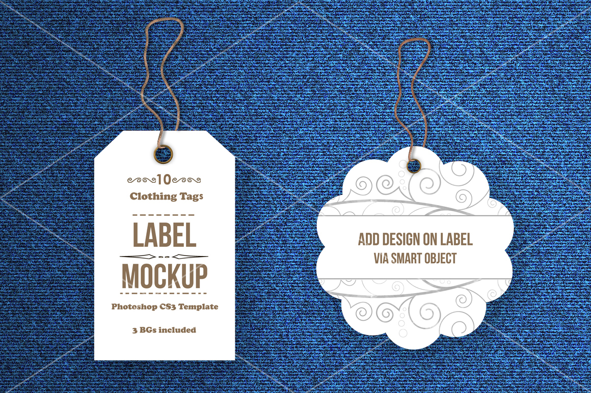 Tags / Labels Mockup Bundle example image 1