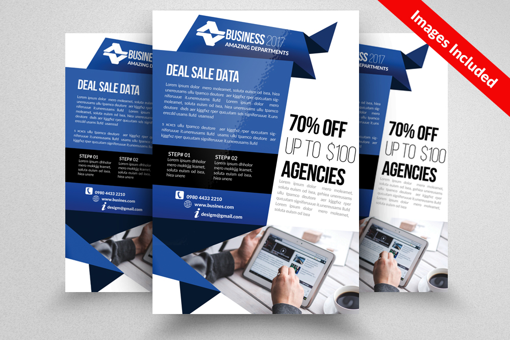 IT Technology Computer Flyer Template example image 1