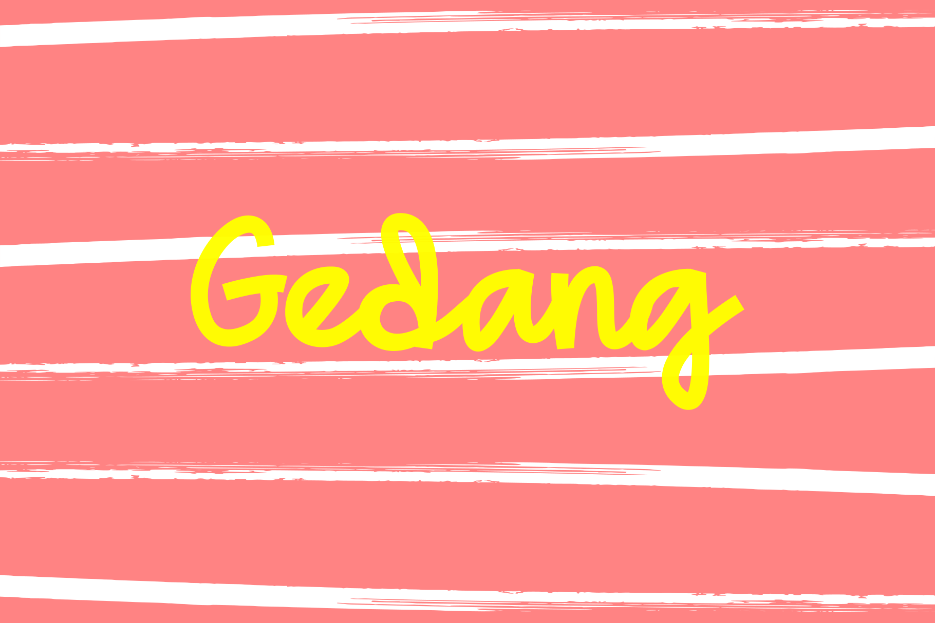 Gedang Playful Font example image 1