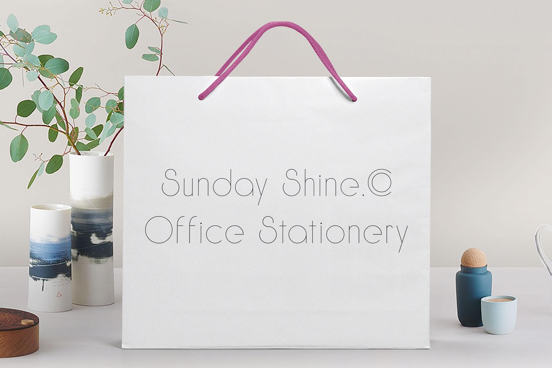 Sunday Shine - Thin example image 3