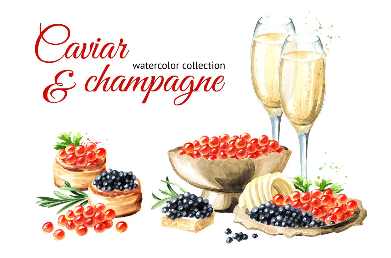 Caviar & champagne example image 1