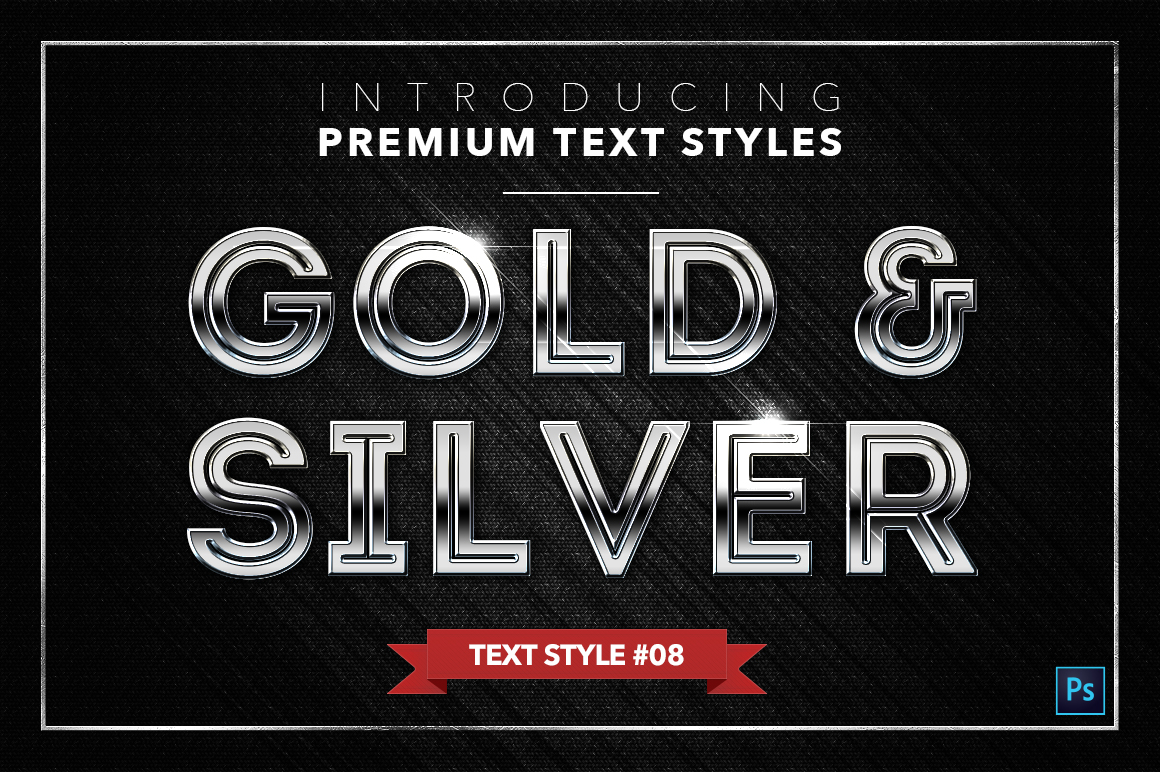 Gold & Silver #3 - 15 Text Styles example image 11