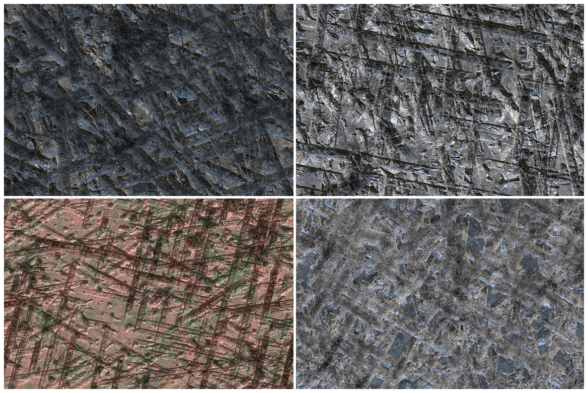 10 Gouged Wall Background Textures example image 3