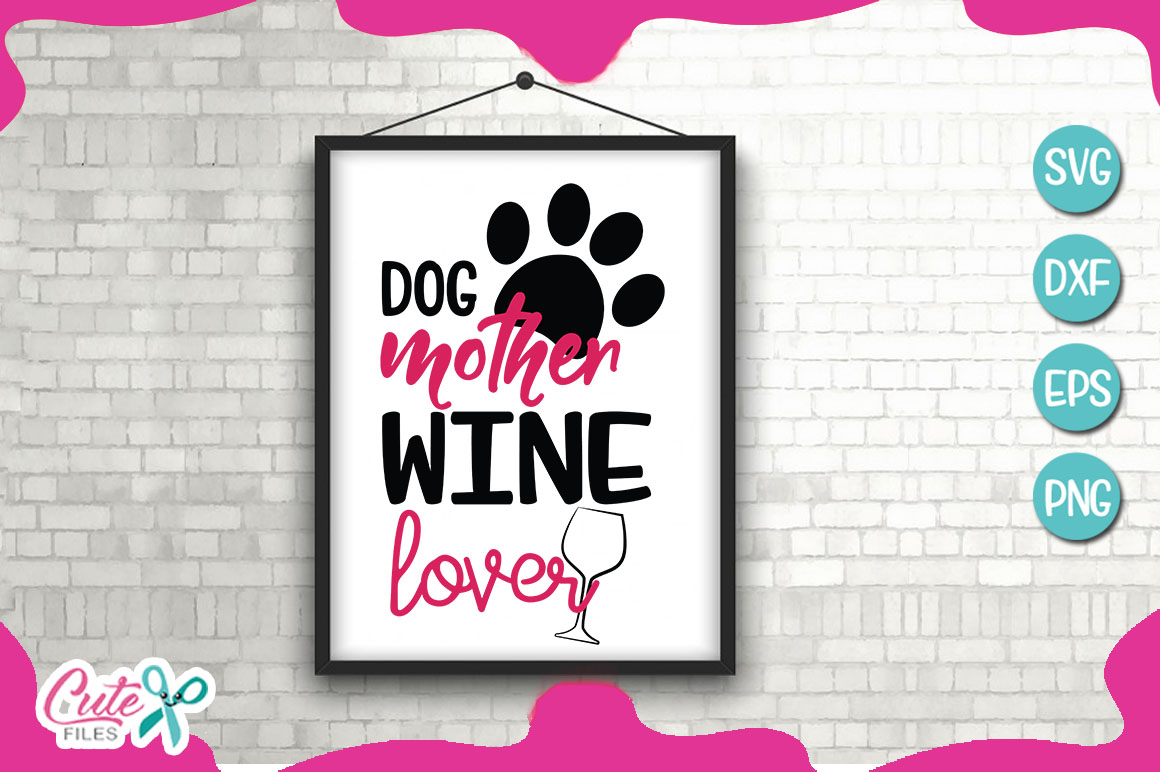 Mom of the dog bundle SVG cut file example image 3