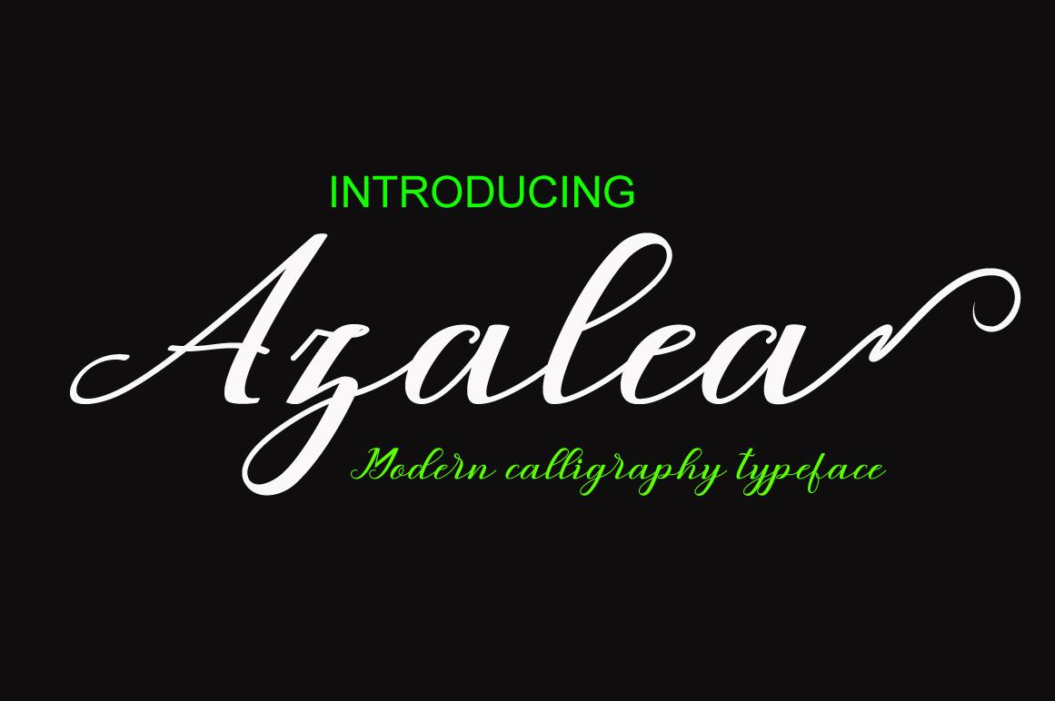 Azalea example image 1