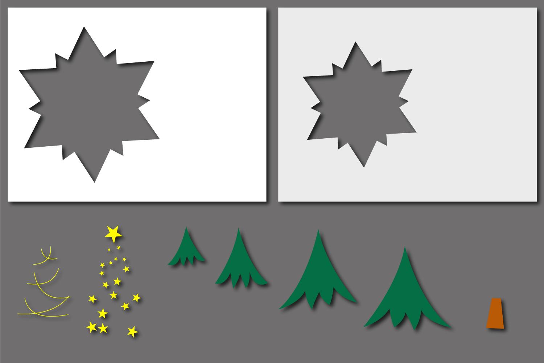 Christmas Star Paper Cut - Christmas Tree example image 3