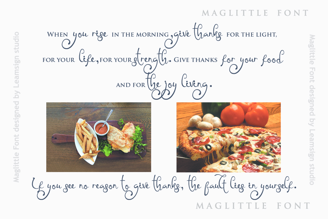 Maglittle Font example image 4