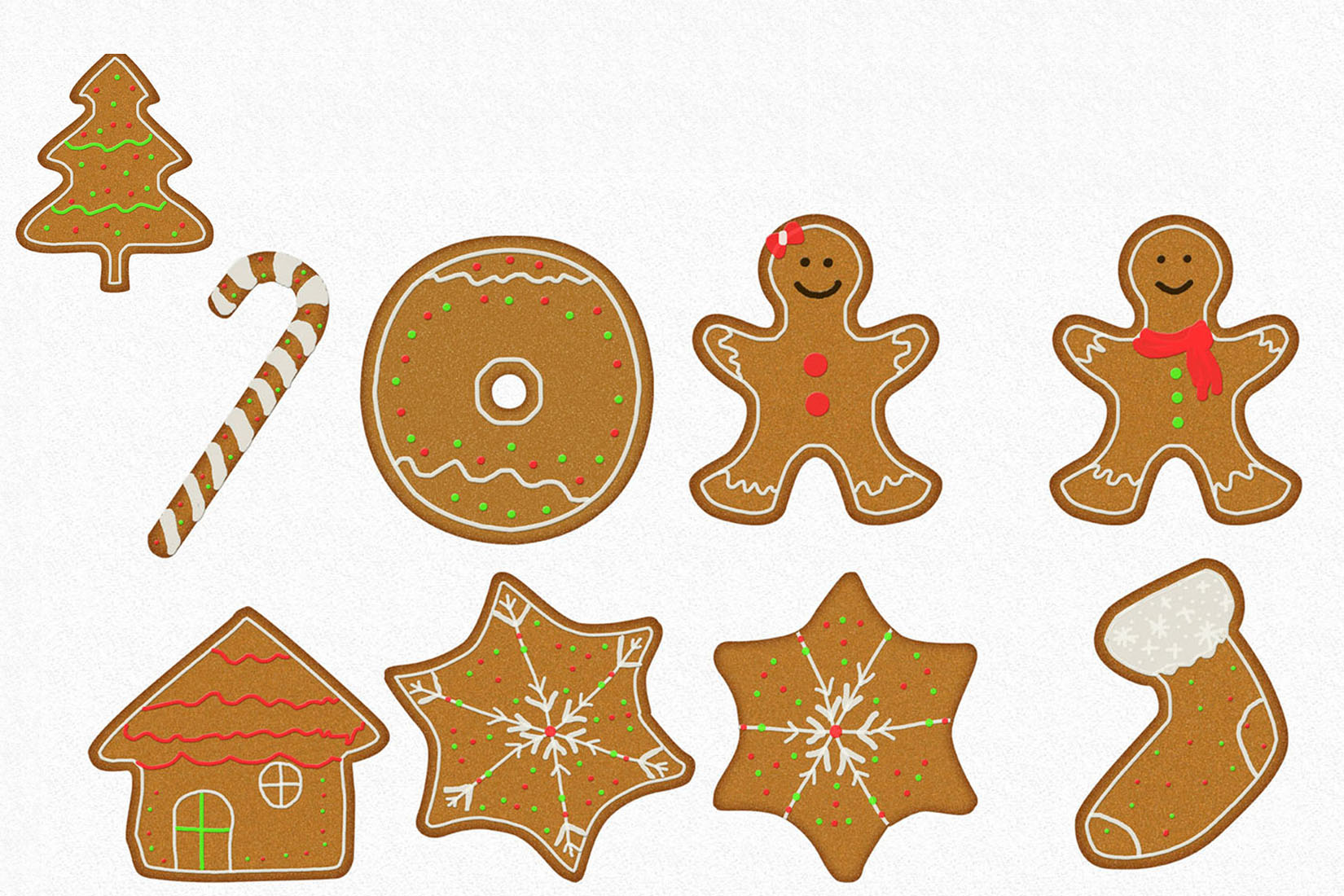 Gingerman Design Bundle - Letters, Numbers, Illustrations example image 7