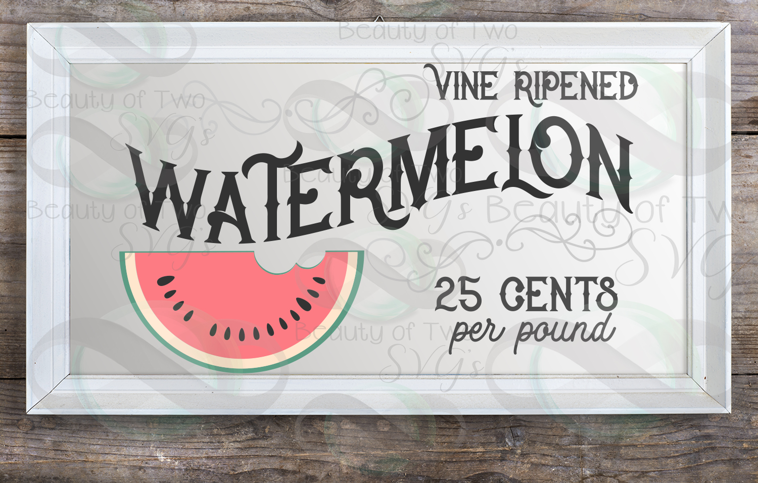 Watermelon vintage svg and png, Watermelon svg, summer svg example image 2