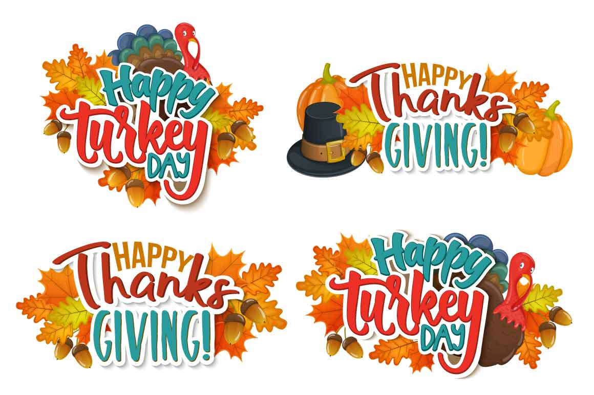 Thanksgiving day - vector Illustrations example image 2