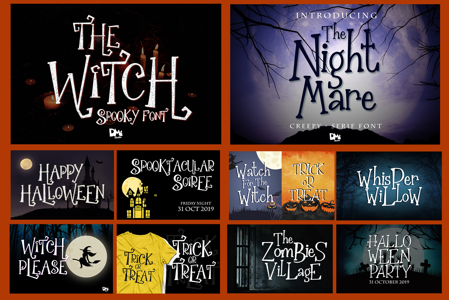 Best SELLER - Halloween Crafting Font BUNDLE example image 13