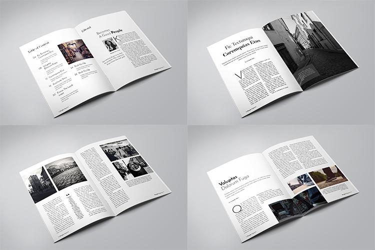 A5 Multipurpose Magazine Template example image 2