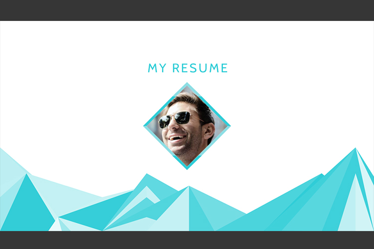 Resume Presentation Templates example image 2