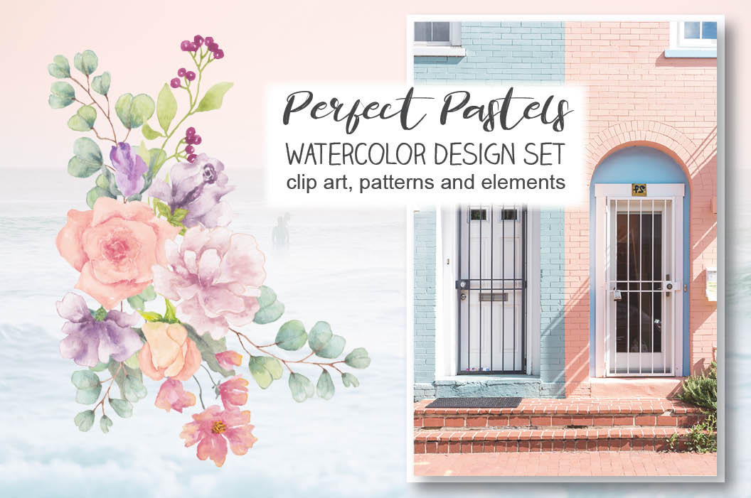 Perfect Pastels design collection example image 1