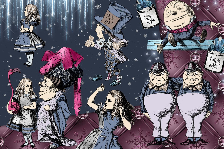 Winter Wonderland Clipart example image 2