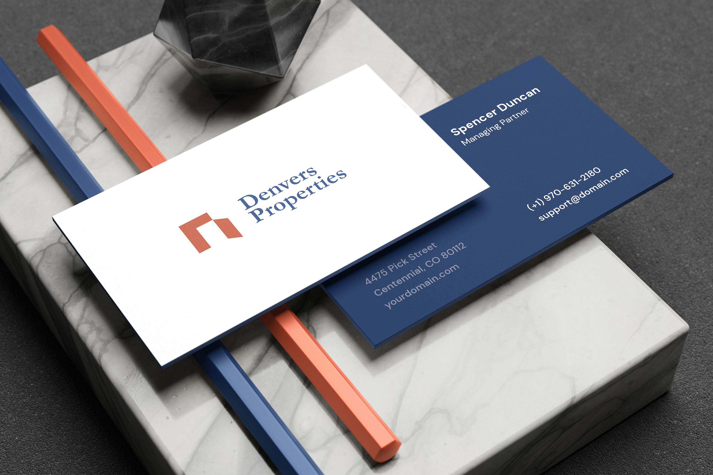 Minimal Corporate Stationery Mockup example image 4