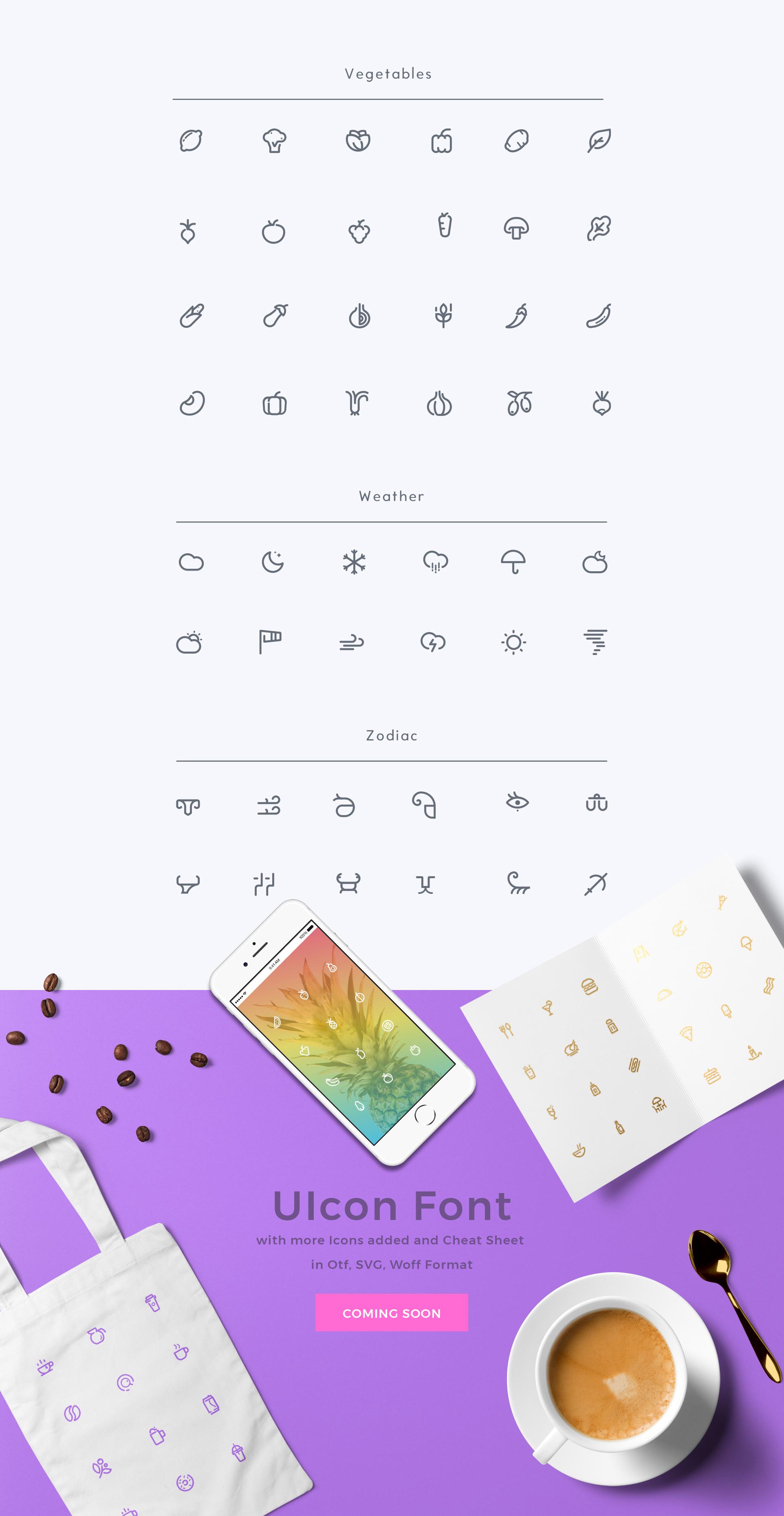 UICON - 280 Icons Bundle Pro Pack example image 6