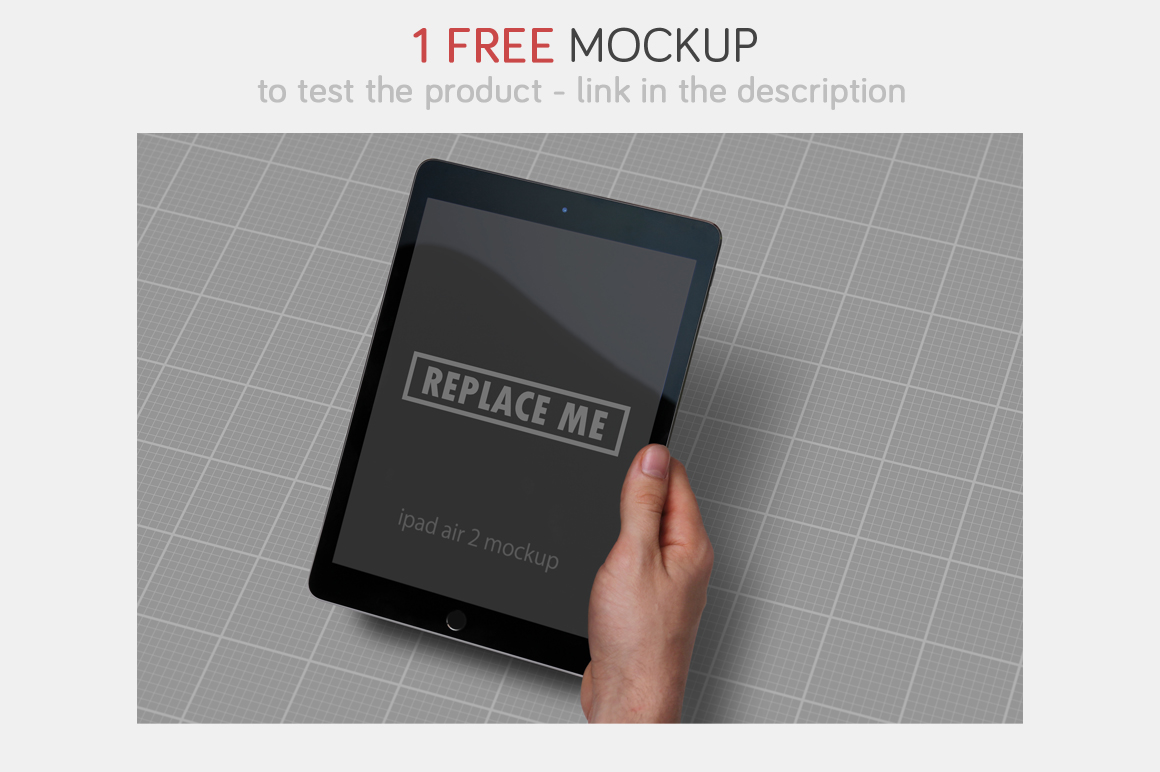 iPad Air Studio Mockups example image 5