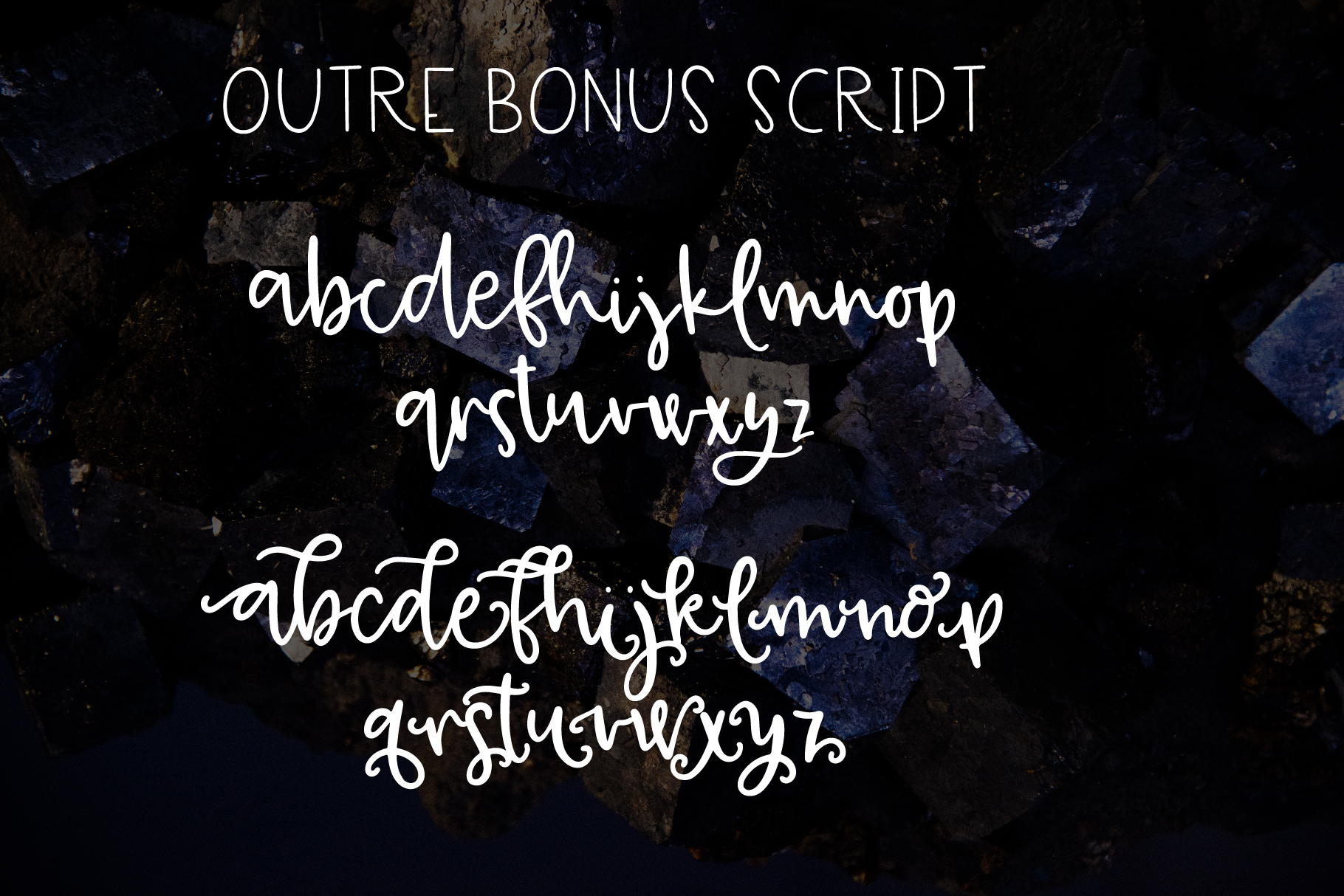 Outre - A 7 Font Set example image 2